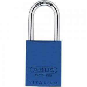 ABUS 83 Titalium Vorhangschloss - 83AL/40 blau
