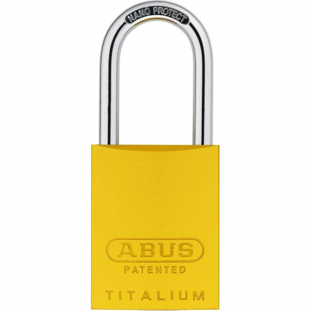 ABUS 83 Titalium Vorhangschloss - 83AL/40 gelb