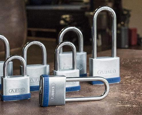ABUS Silver Rock 5 Vorhangschloss für Massive Sicherheit