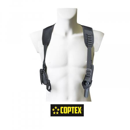 COPTEX Schulterholster mit Handschellentasche-2109