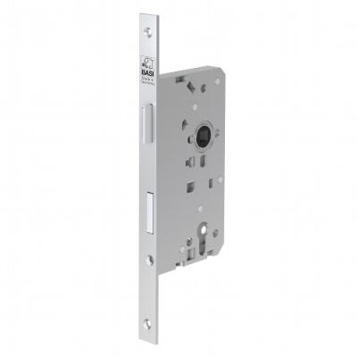 BASI ES 978 Einsteckschloss für Profilzylinder Haustür kantig DIN L-R