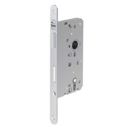 BASI ES 978 Einsteckschloss für Profilzylinder Haustür rund DIN L-R