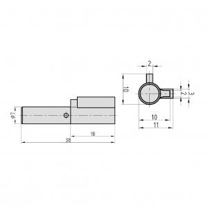 BASI Schlüssellochsperrer SS 12 tz_1827900_s