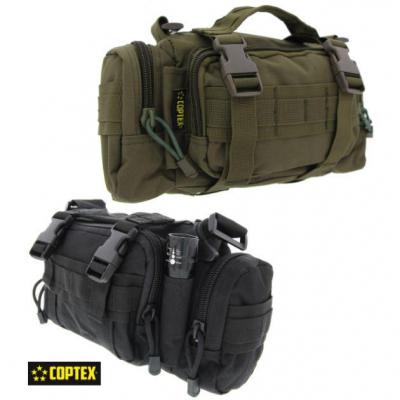 COPTEX Allzwecktasche Security Polizei Einsatztasche schwarz olive
