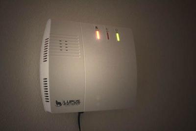 LUPUS XT2 Plus Zentrale nacht