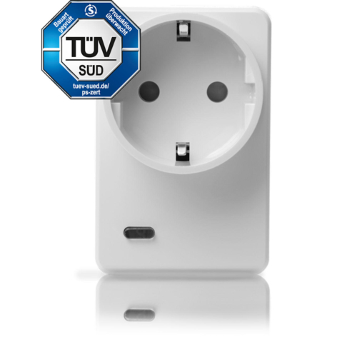 LUPUSEC Funksteckdose mit Stromzähler und ZigBee Repeater