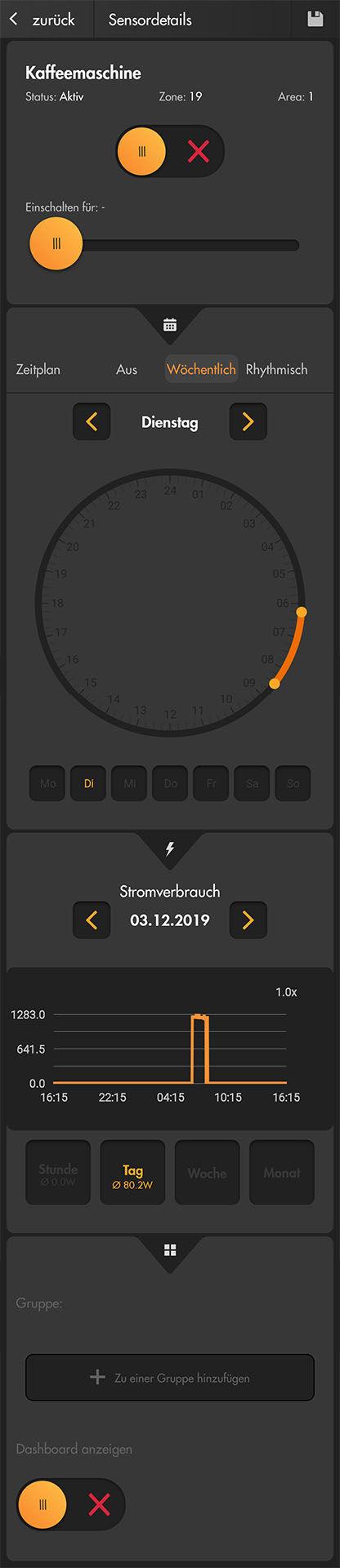 LUPUSEC Funksteckdose mit Stromzähler und ZigBee Repeater_12131_appdemo