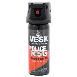 VESK RSG POLICE Stream Weitstrahl Pfefferspray 50 ml