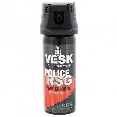 VESK RSG Police Breitstrahl Pfefferspray 50 ml