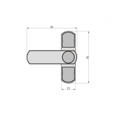BASI FS 500 Fenstersicherung Zusatzsicherung weiß Maße